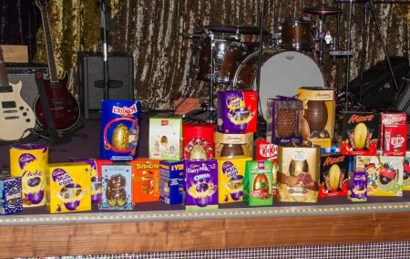 Display of Easter Eggs