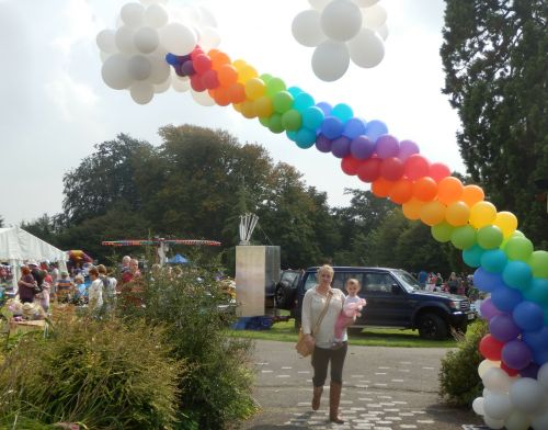 Entrance to the fete