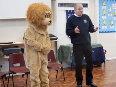 Thanks to Lion Roger and Lion Rufus for the presentation